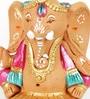 Aapno Rajasthan Multicolour Terracotta Valmiki Ganesh Showpiece