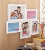 Aapno Rajasthan White Acrylic Soothing Collage Photo Frame