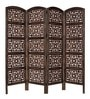 Brown MDF & Mango Wood Partition Screen by Aarsun Woods