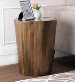 Abilene End Table in Natural Finish