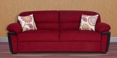 Abu Dhabi Royale Three Seater Sofa in Maroon Colour