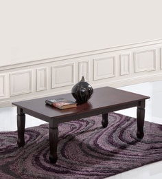 Abbey Coffee Table In Wenge Finish