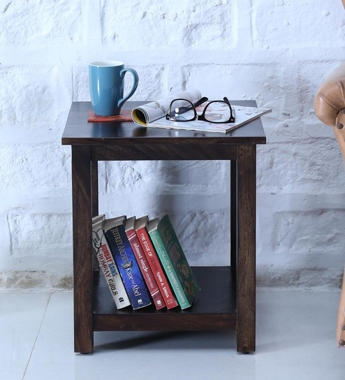 Abbey End Table in Warm Chestnut Finish by Woodsworth