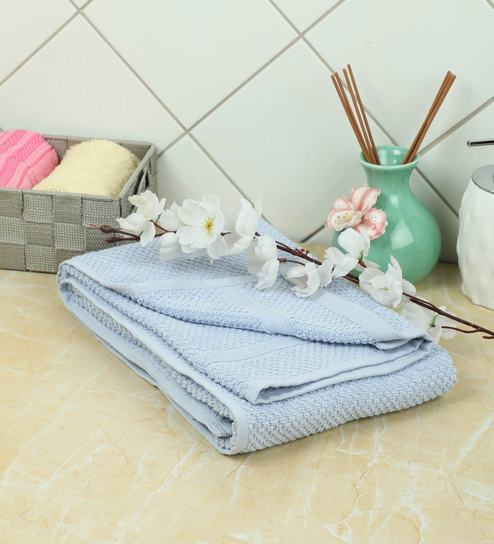 Buy Abstract Pattern Cotton 24 X 48inch Bath Towel By Softweave