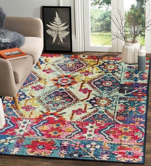 Machine Made Nylon Carpet 6 X 4 Feet