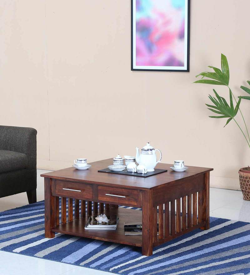 Abbey Coffee Table in  Honey Oak Finish by Woodsworth