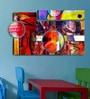 Hashtag Decor Abstract Digital Collage Engineered Wood Art Panel