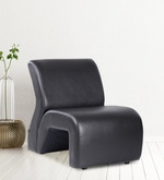 Accent Chair in Black Colour