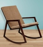 Ace Rocking Chair in Brown Colour