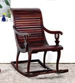 Acklom Rocking Chair in Honey Oak Finish