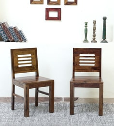 Acropolis Dining Chair (Set Of 2) In Provincial Teak Finish - 1631181