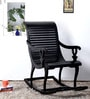 Acklom Rocking Chair in Espresso Walnut Finish by Amberville