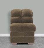 Adam Single Seater Sofa in Dark Brown Colour