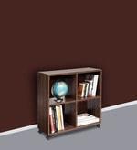 Admire Book Shelf in Acacia Dark Matt Finish