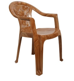 Admire Chair Set Of 4 In Brown Colour