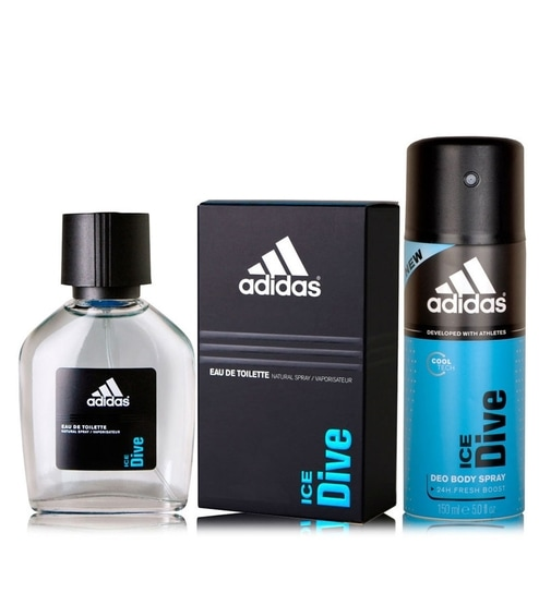 Adidas Combo Of Ice Dive Perfume Deodorant By Adidas Online
