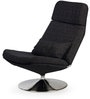 Adamsville Leisure Chair in Charcoal Colour by HomeHQ