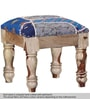 Adhiraj Stool in Blue Color by Mudramark