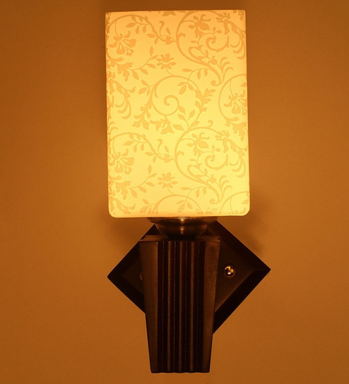 Single Shade Uplighter Wall Mounted Light by Aesthetic Home Solutions