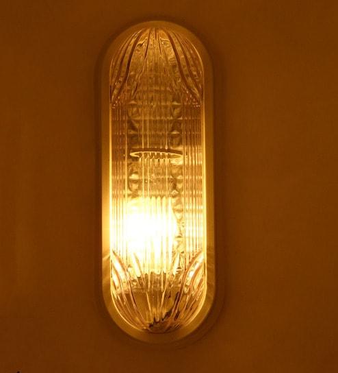 Aesthetic Home Solutions White Ellipsoid Bucket Light