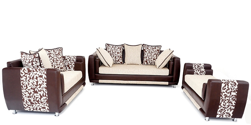 Buy aesthetic sofa set 3 2 seater with divan by for Divan sofa set