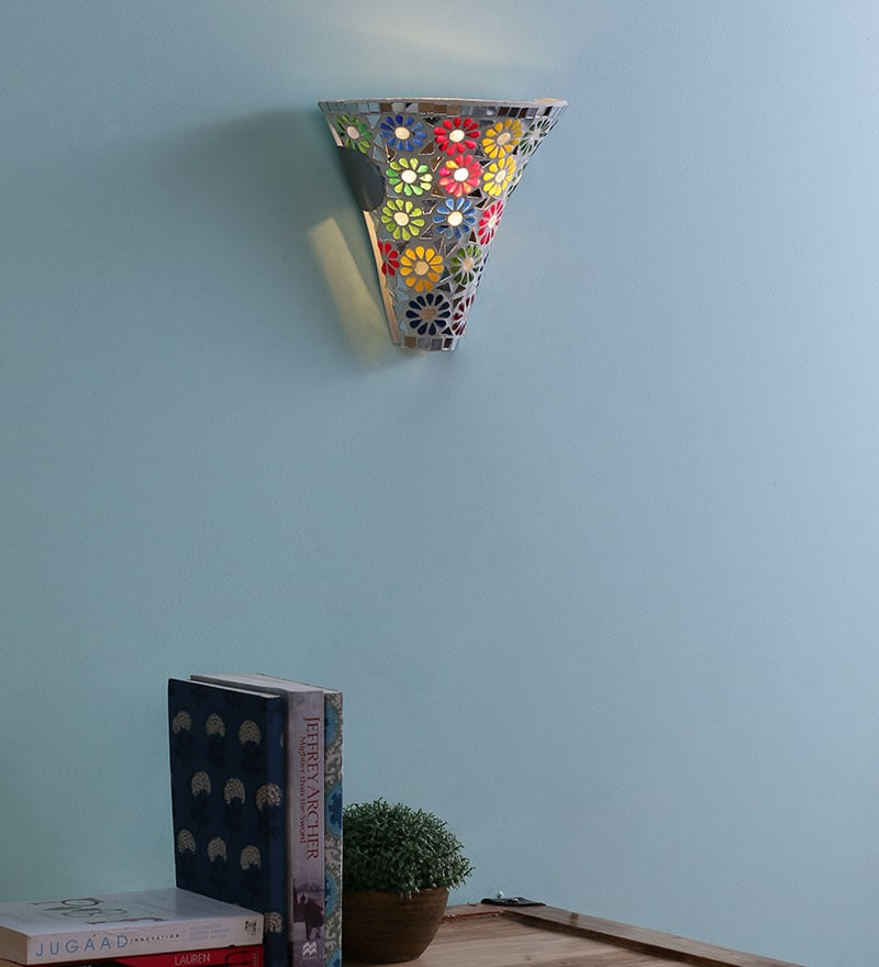 Floral Upward Wall Mounted Light by Aesthetic Home Solutions
