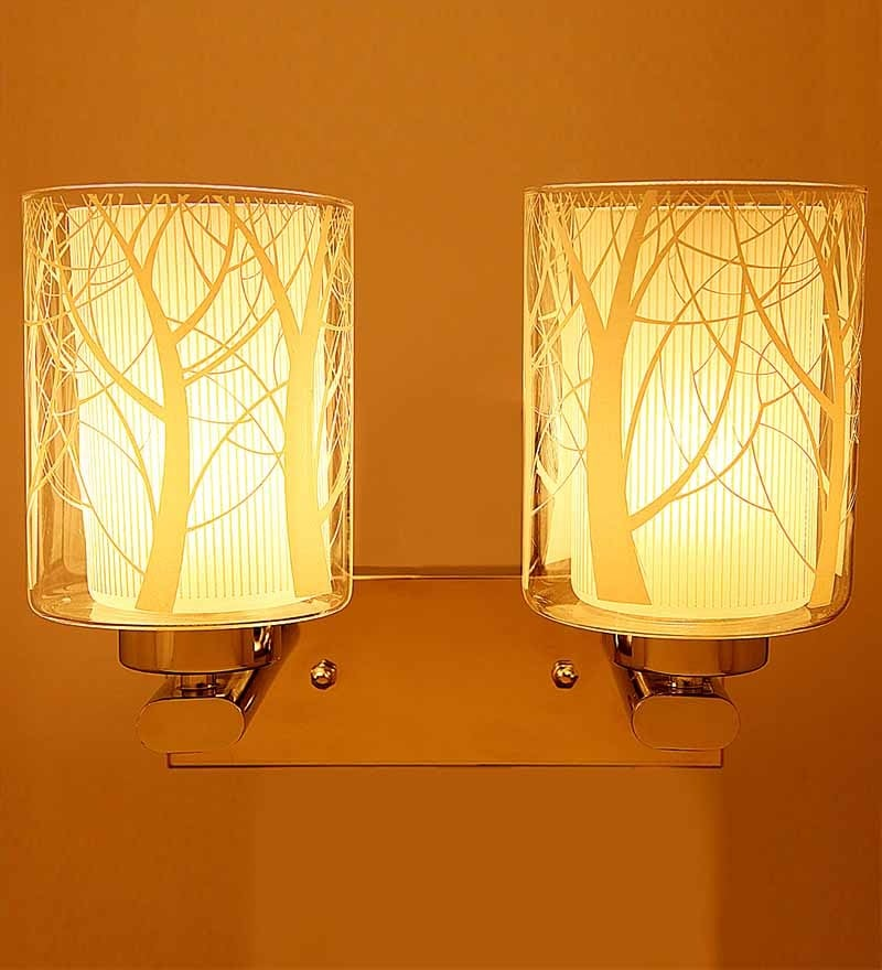 Buy Double Shade Uplighter Wall Mounted Light By Aesthetic Home Solutions Online Contemporary