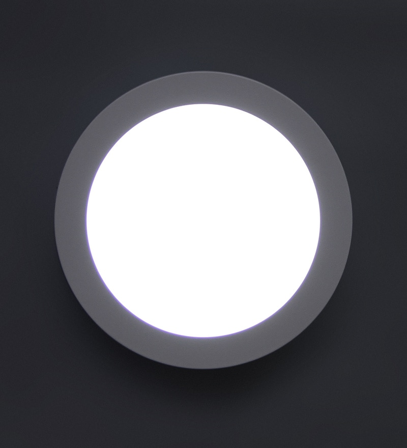 Aesthetic Home Solutions 18 Watt Led Surface Glass Flush Mounted Light