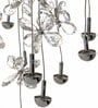 Transparent Glass Chandelier by Aesthetic Home Solutions