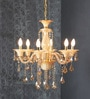 Aesthetics Home Solution Brown Glass Chandelier