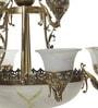 Aesthetics Home Solution Portuguese Style Antique Aluminium 17 Lamp Shades Chandelier