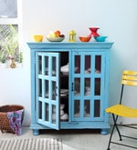 Cantrell Sideboard in Blue Distress Finish