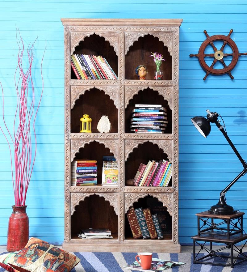 Cher Book Shelf in Distress Finish by Bohemiana