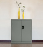 Alden Low Height Storage Unit  in Grey Colour