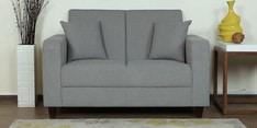 Alba Two Seater Sofa in Ash Grey Colour