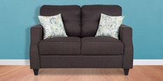Albans Two Seater Sofa in Grey Colour