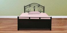 Alberta Single Bed with Hydraulic Storage in Black Finish