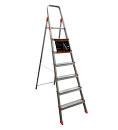 Alnico Aluminium 7 Steps 7.3 FT Ladder