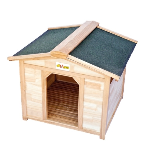 All4pets Embled Wood House For Pets S