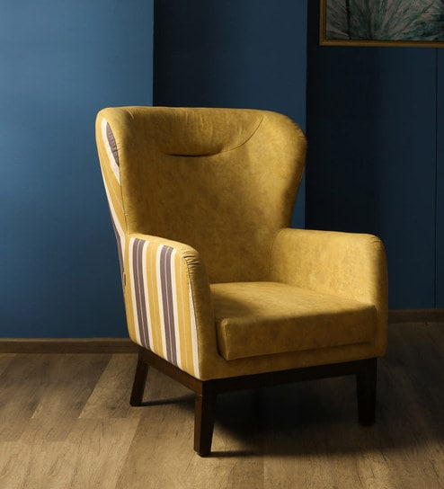 Prime Alan Wing Chair In Multicoloured Striped Pattern By Casacraft Pdpeps Interior Chair Design Pdpepsorg
