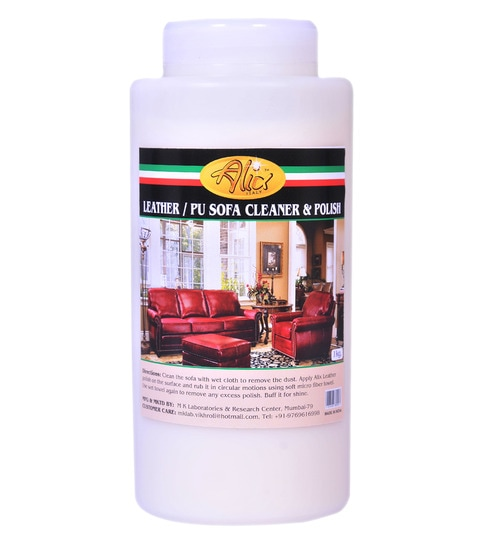 Alix 1 L Leather Pu Sofa Cleaner Polish