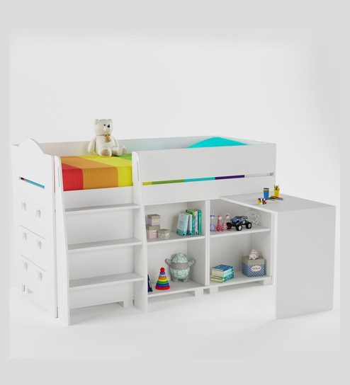 Buy All Star Smart Bed In Frosty White By Boingg Online Kids