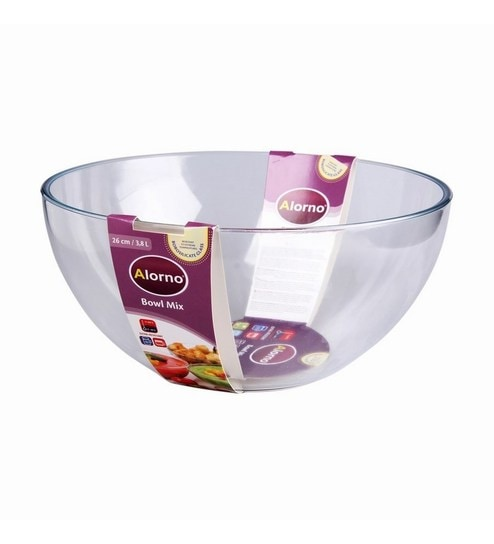 Alorno Gl Microwave Oven Safe Mixing Bowl 3 8