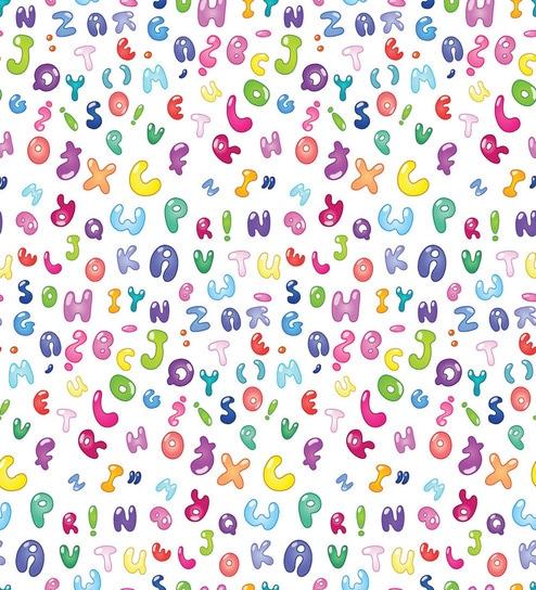 Print A Wallpaper Alphabet