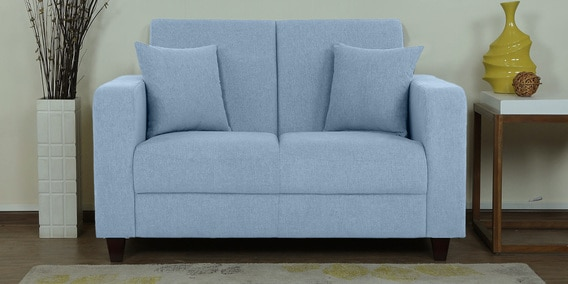 Incredible Alba 2 Seater Sofa In Ice Blue Colour By Woodsworth Uwap Interior Chair Design Uwaporg