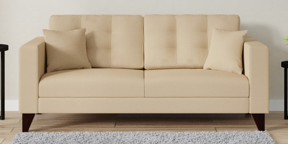 Incredible Alfredo 3 Seater Sofa In Beige Colour By Casacraft Forskolin Free Trial Chair Design Images Forskolin Free Trialorg