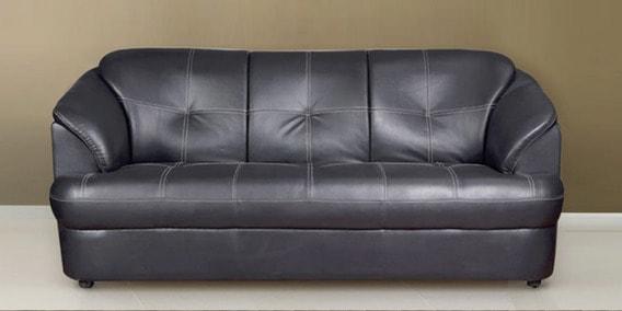 Alto 3 Seater Sofa In Black Colour