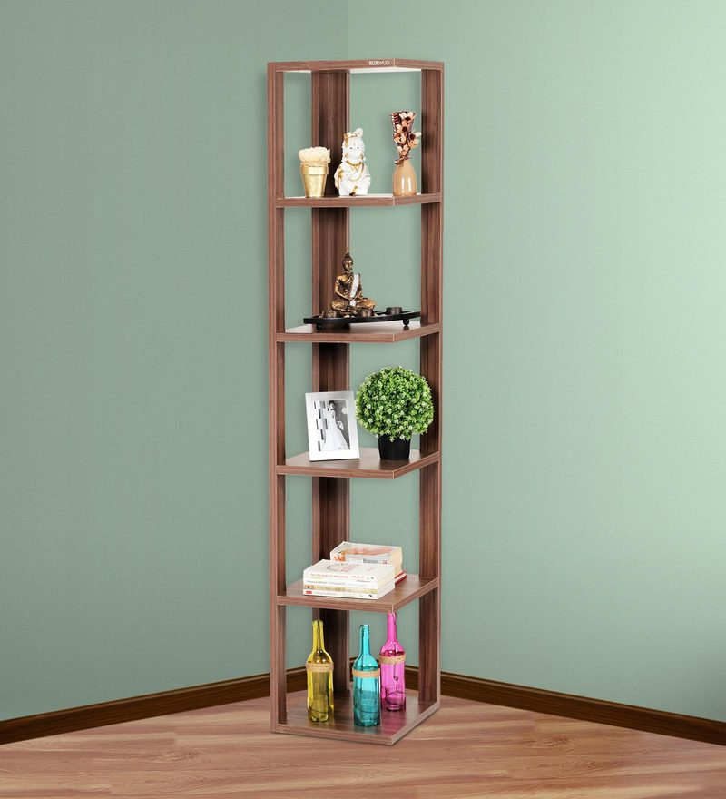 Buy Albert Floor Standing Corner Display Shelf 6 Shelves