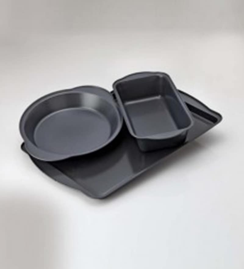 Alda Bakeware Carbon Steel Baking Dishes - Set of 3