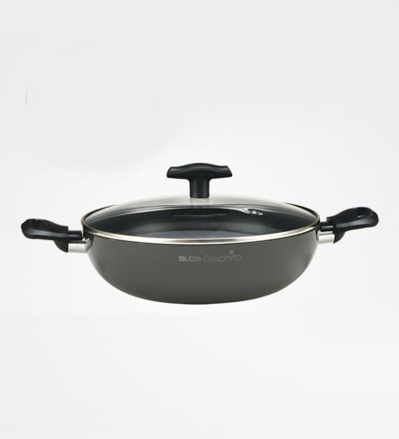 Non-Stick Graphito Wok Pan 24 Cm by Alda